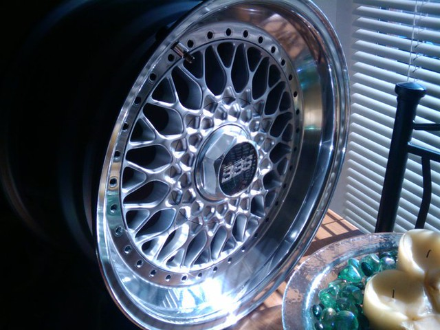 polished BBS