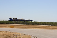 Blue Angles Delta Formation Take-off