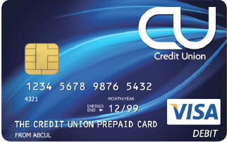Credit Union Prepaid Card