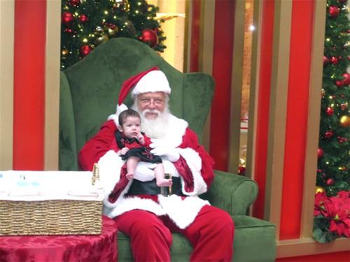 Amelia and Santa