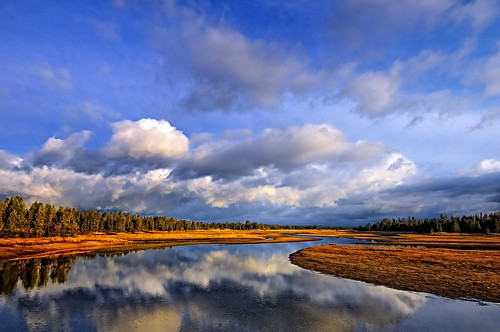 autumn fall clouds reflections idaho cloudscapes donnelly lakecascade