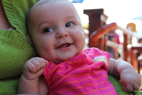 Jovie smiling