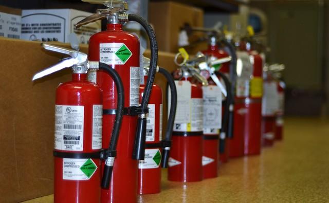 Regular Fire Extinguisher Testing