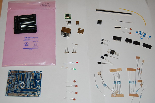 Nanode RF Kit Contents