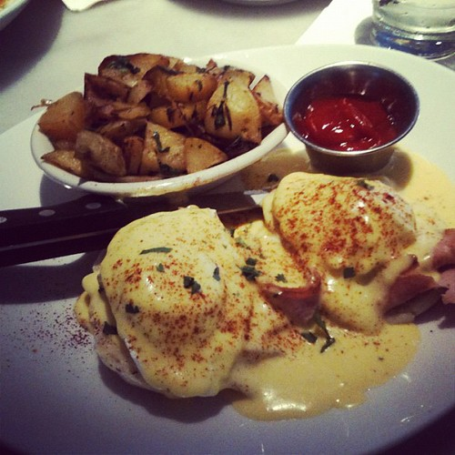 Another Eggs Benedict for the collection.