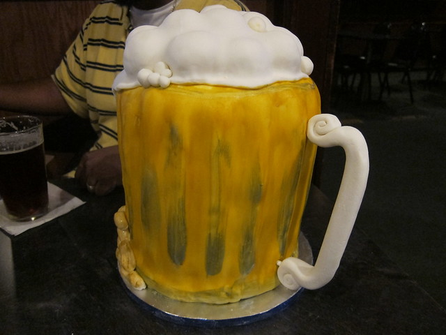 How To Make Beer Mug Square Cake