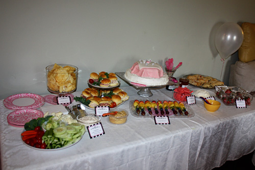Food-and-dessert-table