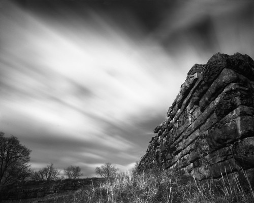 longexposure trees film wall clouds fort stonework pinhole 8x10 ramparts 25a efkeir820