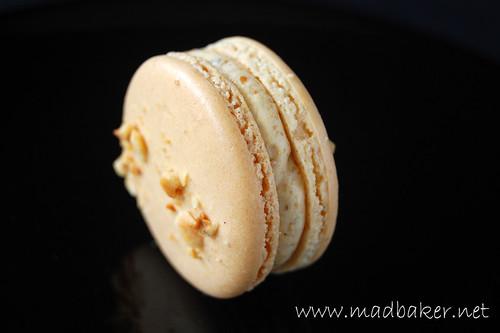 Hazelnut Praline Macarons