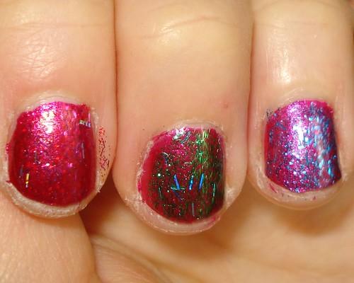 Zoya Glitters over Izzy