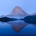 Pic du Midi d'Ossau.  Panorama at dusk by MOUNTAINCULT