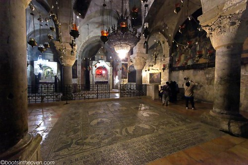 The Church of the Holy Sepulchre is full of smaller chapels