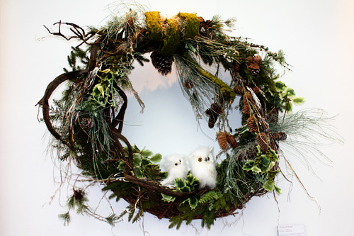 owl-wreath