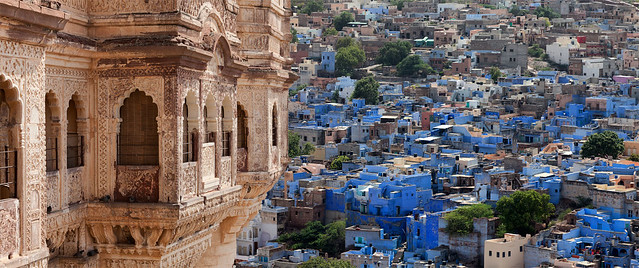 Jodhpur, also known as Sun City and Blue city  जोधाणा जोधपुर
