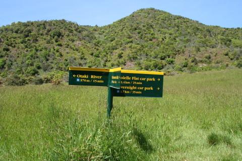 Otaki River track