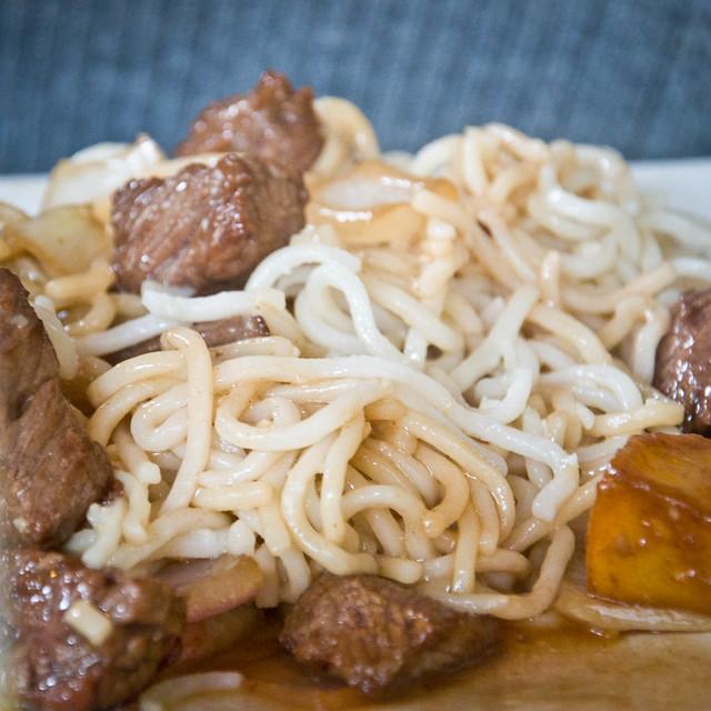 Garlic Noodles at Mangosteen
