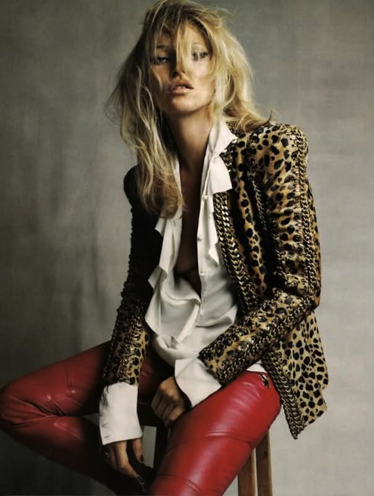 red leather pants vogue uk september 2010