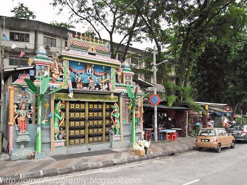 Hindu temple Jalan san peng prawn mee, prawn noodle, har meen, har mee R0016990 copy