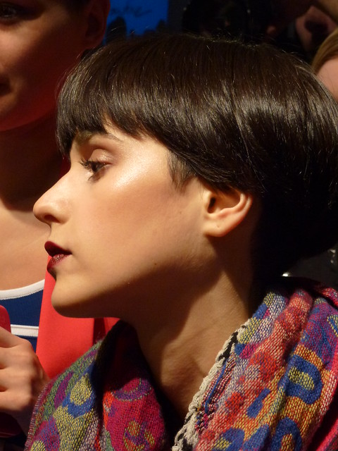 The make up for Pink Tartan by Grace Lee at Maybelline