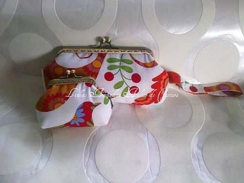 conjunto passarinho laranja by ♥Linhas Arrojadas Atelier de costura♥Sonyaxana