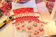 Bella moon oven mitt in progress.