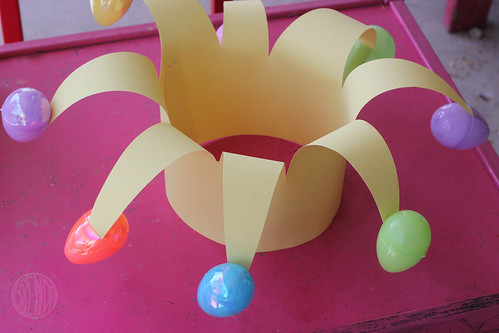 floppy easter egg jester hat