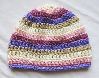 granny square baby hat