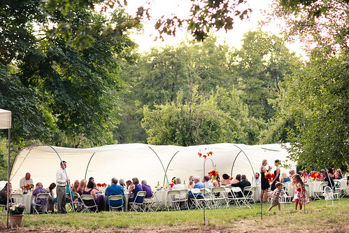 Wedding Hoop Tent