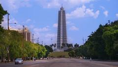 Marti memorial in Revolution square, Plaza district, Havana | Monumento José Martí en Plaza de la Revolución, La Habana
