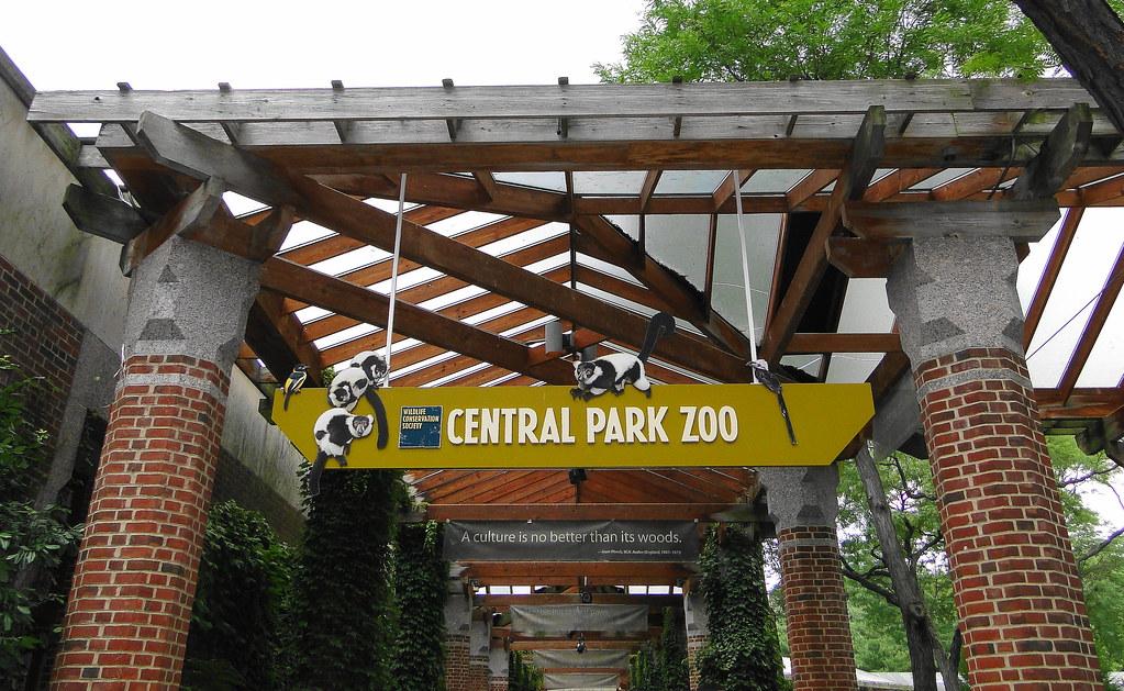 Entrance Central Park Central Park Zoo Entrance