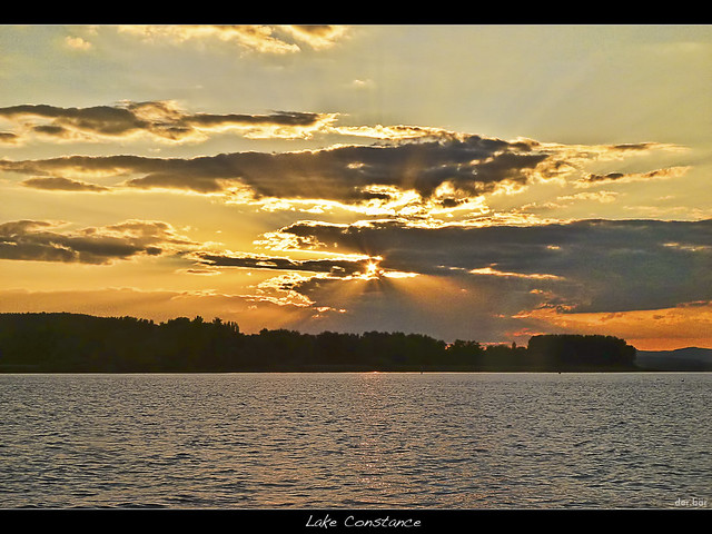 Lake Constance - Sunset, Panasonic DMC-FX700