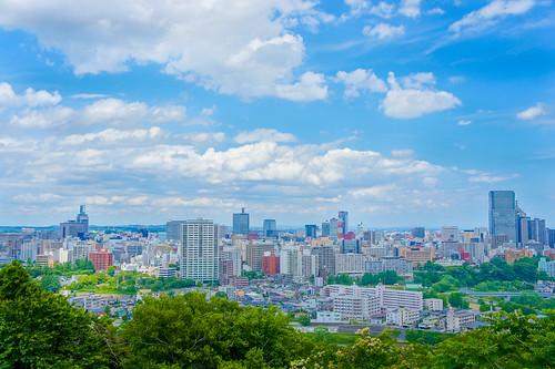 japan landscape sony sendai hdr nex5 sel1855