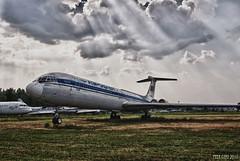 Soviet Long-Range Jet Airliner Ilyushin IL-62. Советский дальнемагистральный авиалайнер Ил-62.