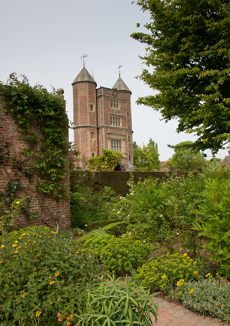 England Kent Sissinghurst Castle Cottage Garden