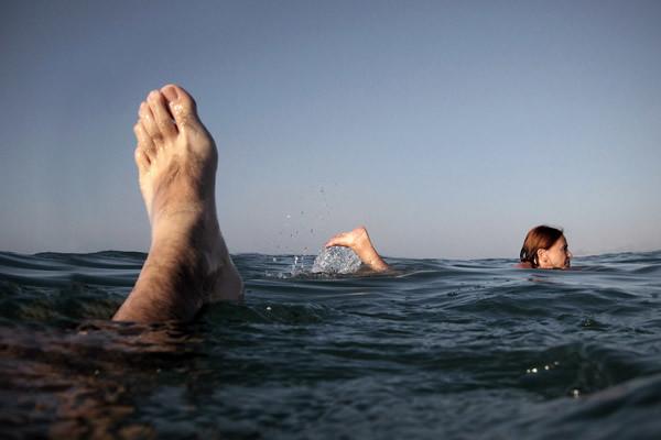 Beach - Minimalism in Street Photography