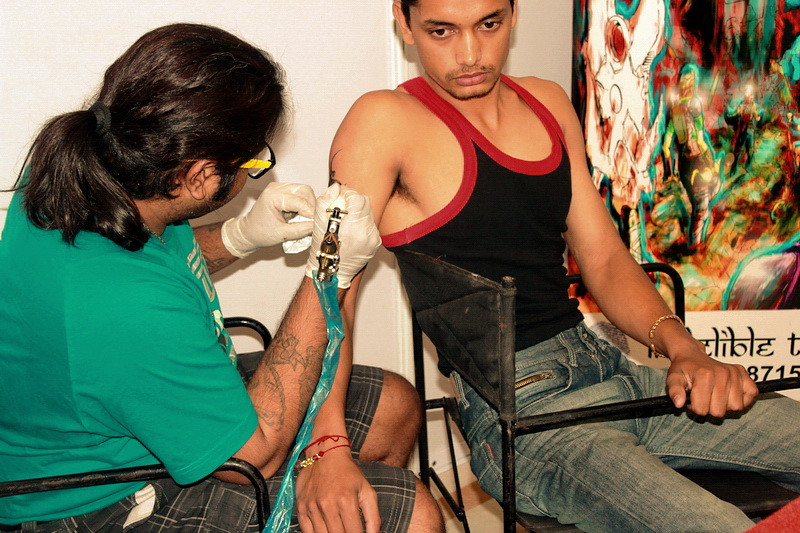 9c41ab05288e5 tattoo india convention veer hegde piercing bangalore Eternal expression
