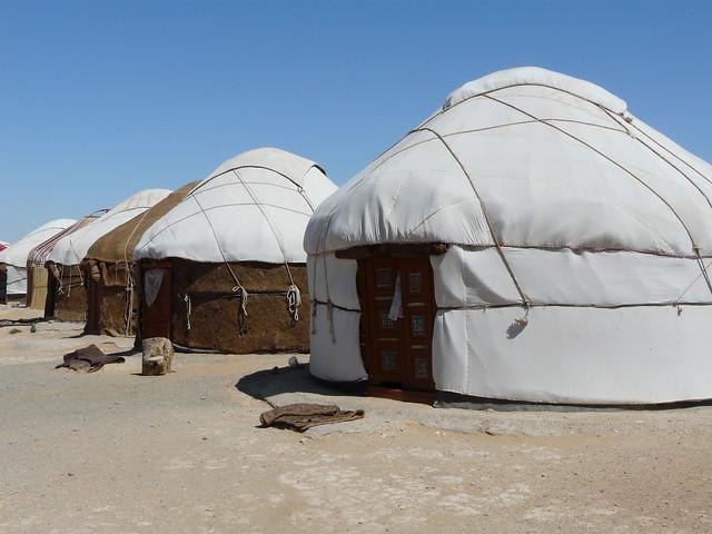 Yurtas en Uzbekistán