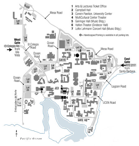 Blog Ucsb Campus Map Cablell Hall A Photo On Flickriver