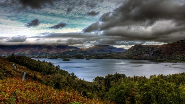 0248 - England, Lake District, Derwent Water HDR