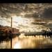 Golden Hour 2 - Albert Dock by Lee Carus