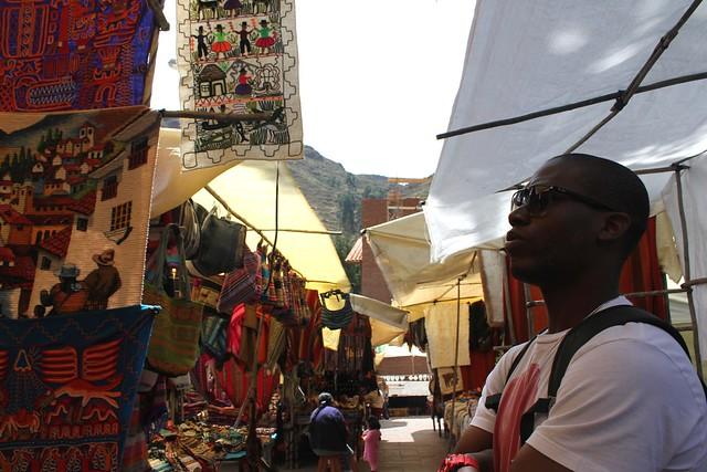 Pisac, Textile Market