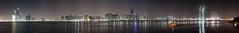 Abu Dhabi skyline view from Marina Mall