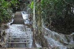 El que passa quan vols anar a dalt de la cascada
