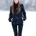 Polina - Fashion / Snow