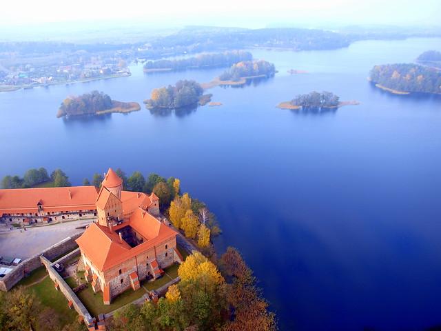 Trakai from above