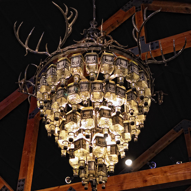 the jack daniels chandelier flickr photo sharing