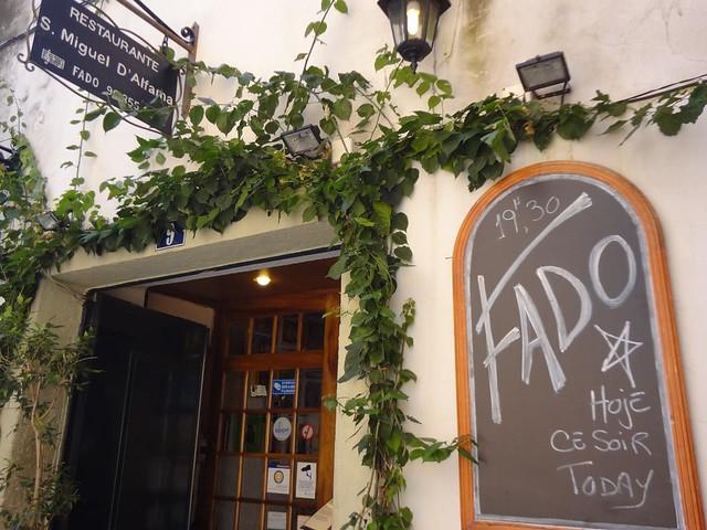 Restaurante de Fado em Lisboa
