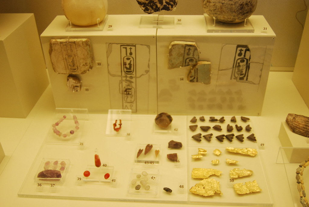 Mycenae, Amenhotep III