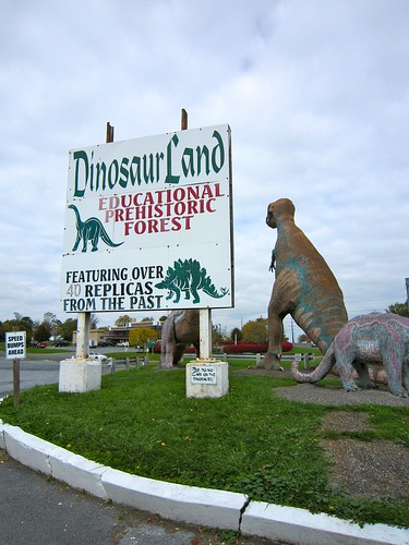 Dinosaur Land Sign Route 11