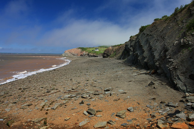 Fossil Cliffs - Joggins, Nova Scotia